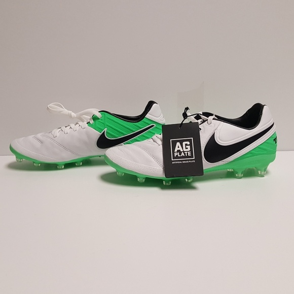 7e636b5966a4 Nike Tiempo Legacy 2 AG Pro Soccer Cleats Mens